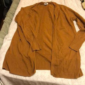 Old Navy Brown long sleeve Cardigan